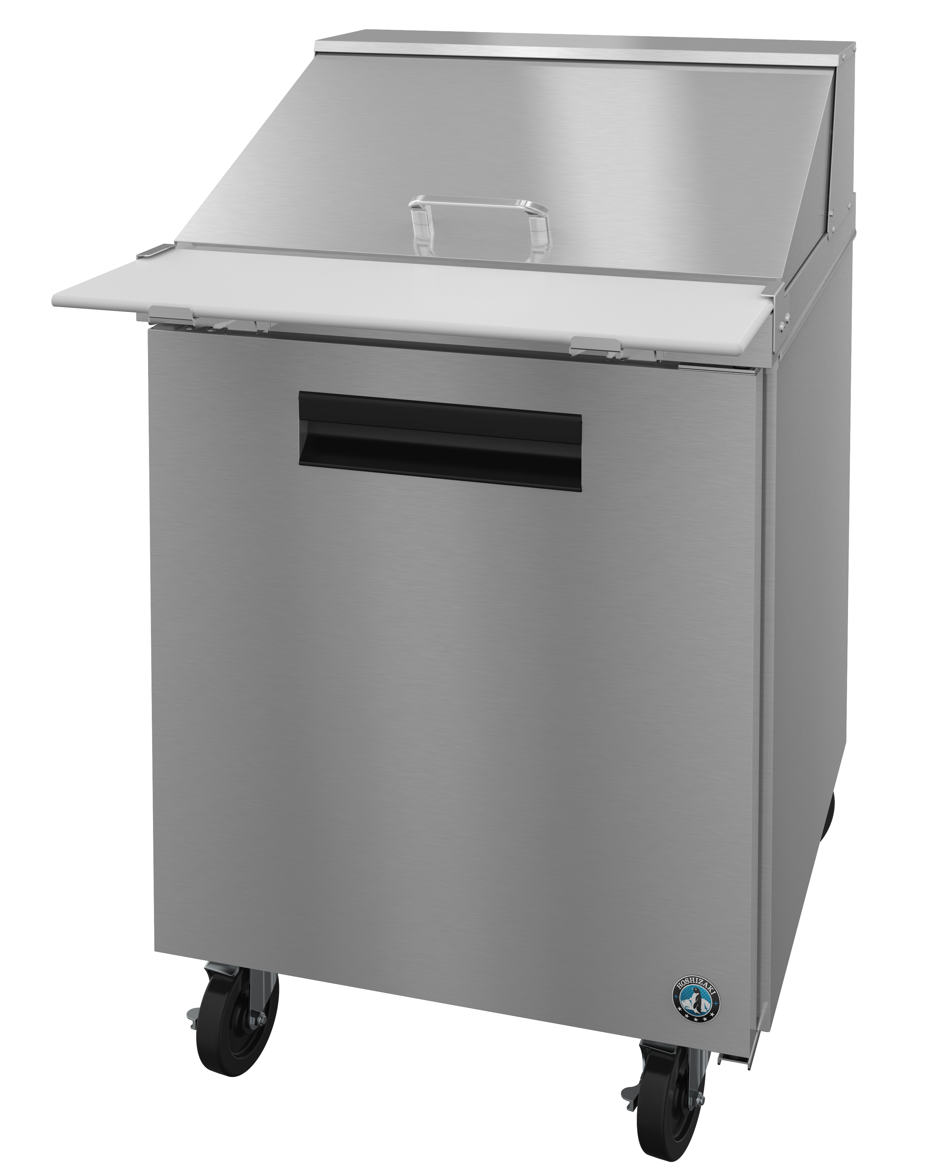 CRMRM Refrigerator Single Section Mega Top Prep Table - 6 foot stainless steel prep table