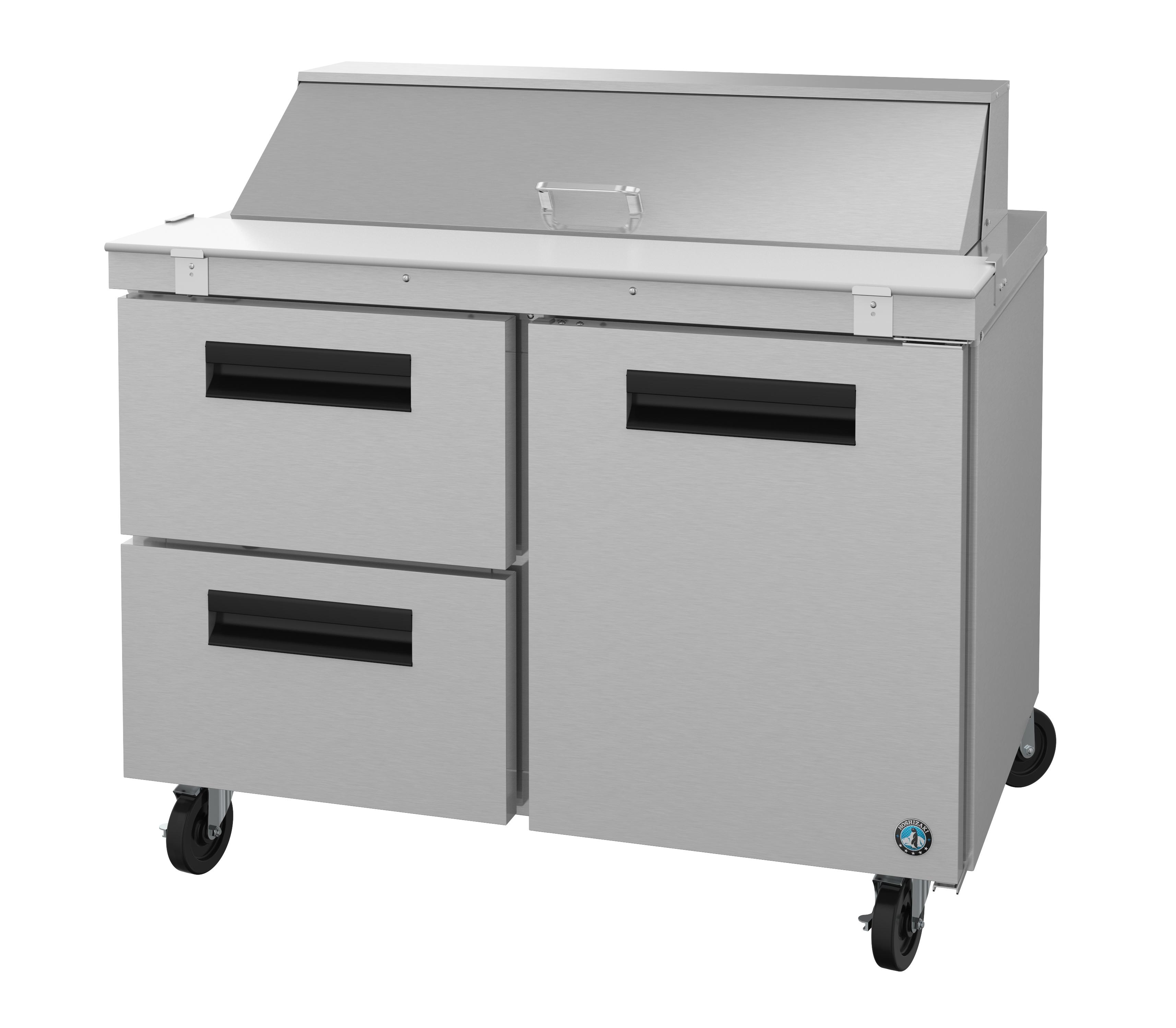 CRMR48-12D2-173x150 Product Release: Door/Drawer Combo - Sandwich Prep & Mega Top Prep Tables